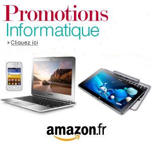 Amazon : promotion sur l'informatique
