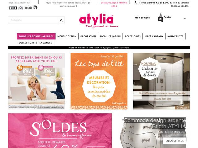 Soldes deco et jardin Atylia -70%