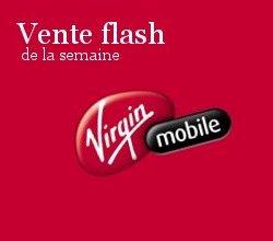 Vente flash Virgin Mobile