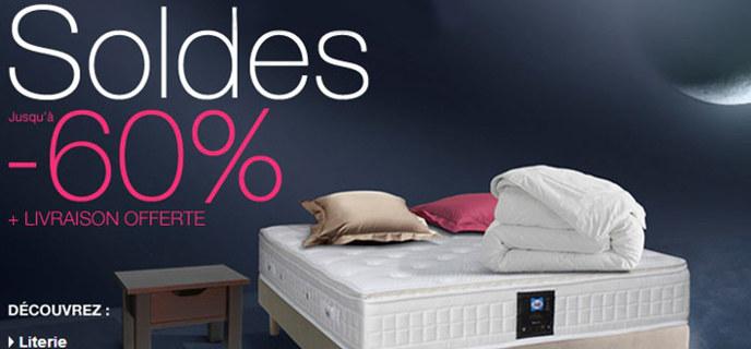 promotion matelas sommier pas cher matelsom. Black Bedroom Furniture Sets. Home Design Ideas