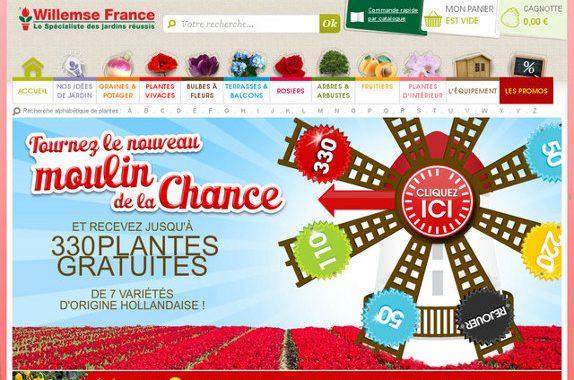 Jardinerie en ligne willemse plantes gratuites for Jardineries en ligne