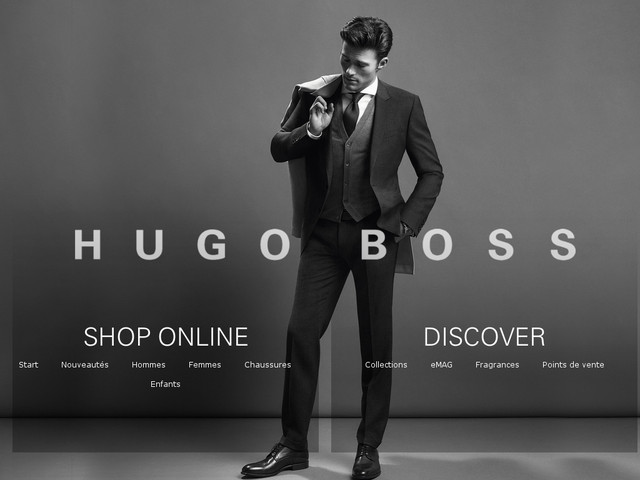 Hugo Boss vêtements