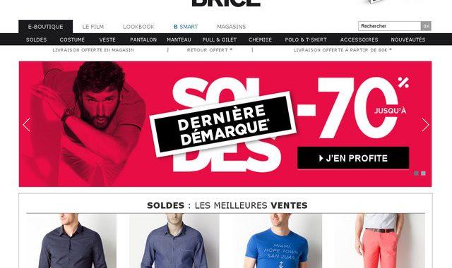 Brice :  boutique de vêtements homme