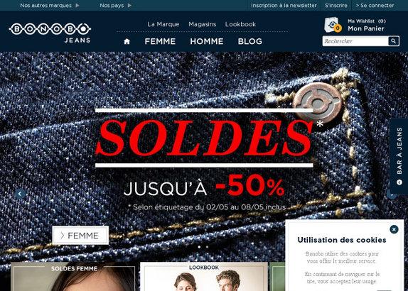 Bonobo boutique : soldes à tous les étages