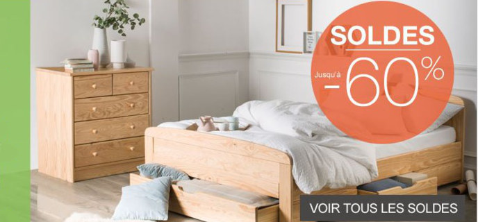 promotion camif mobilier pas cher et livraison gratuite. Black Bedroom Furniture Sets. Home Design Ideas