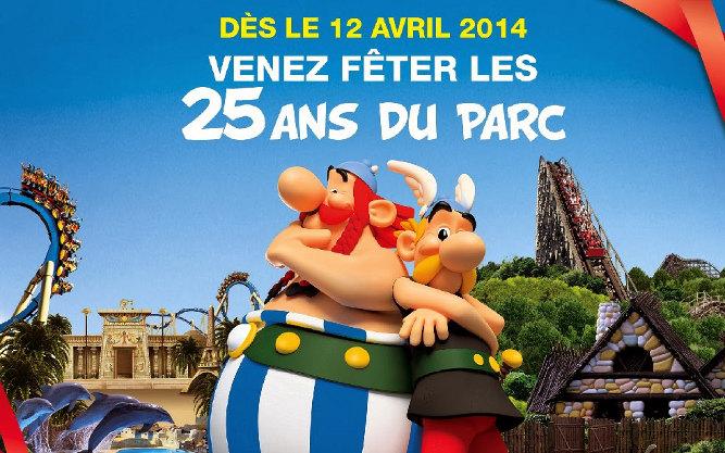 Parc Astérix : 25e anniversaire