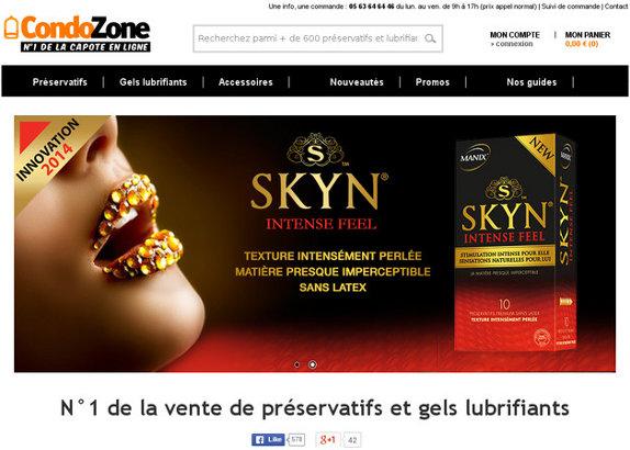 Condozone, vente de préservatifs en ligne