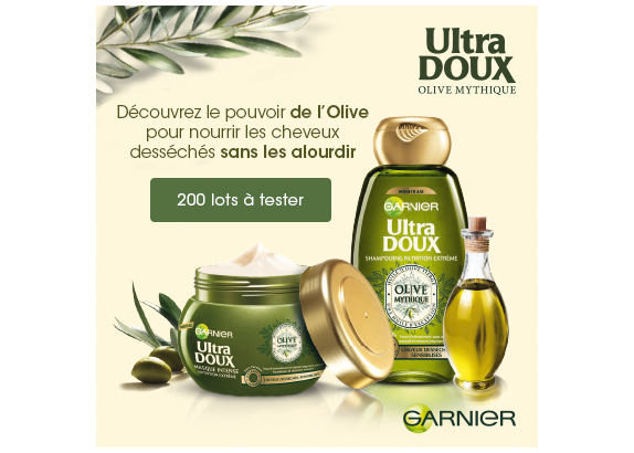 Ultra Doux Olive Mythique de Garnier