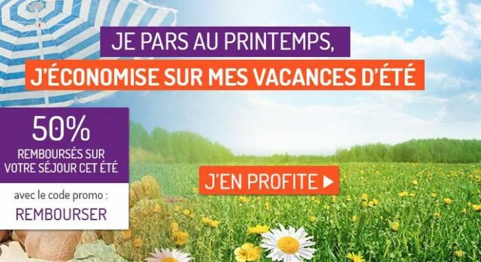 Madame Vacances rembourse 50% de vos vacances d'été