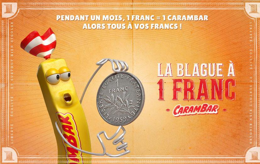 Carambar - La blague à 1 franc