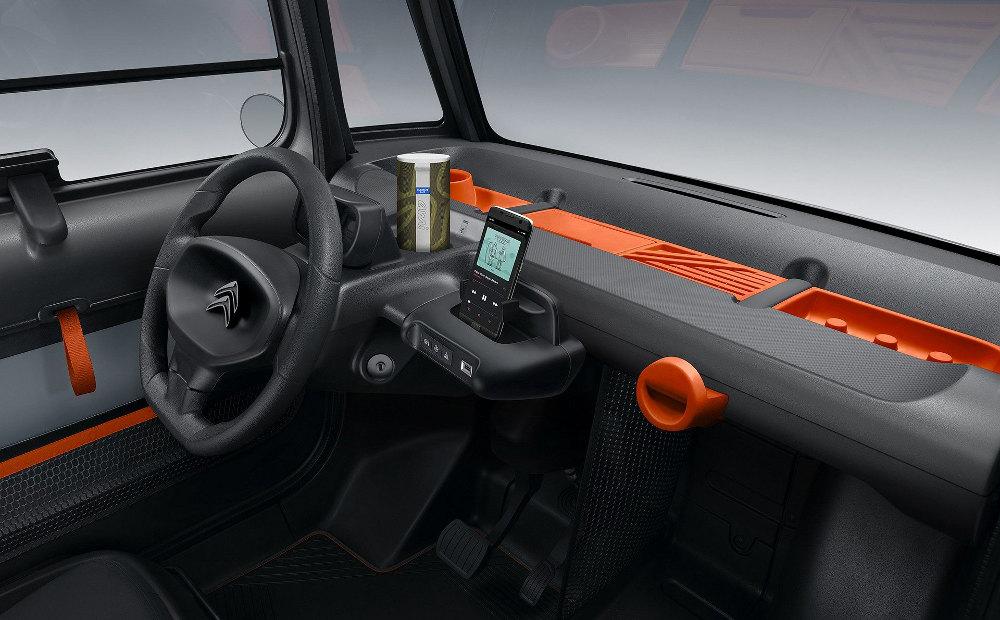Citroën Ami Electric : tableau de bord