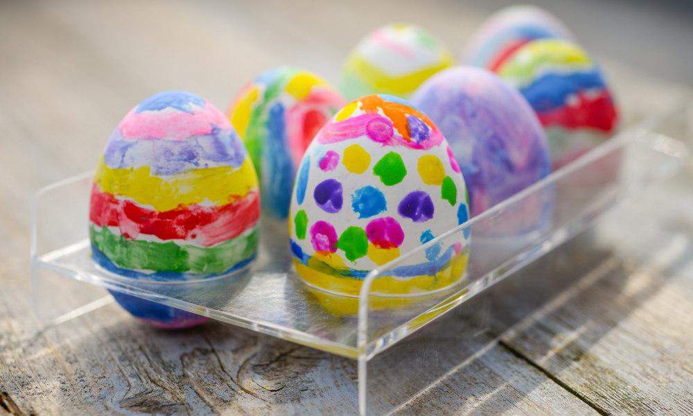 Chasse aux oeufs de Pâques originale